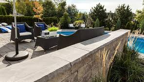 sislers stone techo bloc caps this looks like pa thermal bluestone cap i d like for patio and on top of raised hearth by fireplace