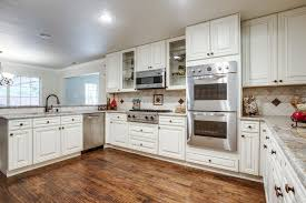 Small Picture Simple Off White Kitchen Cabinets With White Appliances Has