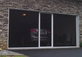 image of awsome garage door screens retractable