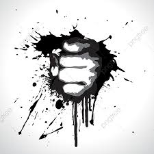 Fist Transparent Background Vector Fist Abstract Artwork Background Png And Vector