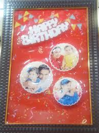 3d emboss birthday frame