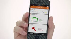 garage door alarmAlarmcom Remote Garage Door Control  YouTube
