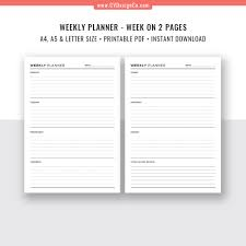 Action Day Planner Template 2019 Ultimate Planner Bundle Printable Daily Planner Weekly Planner Monthly Planner Goal Planner To Do List Planner Inserts Filofax A5 A4