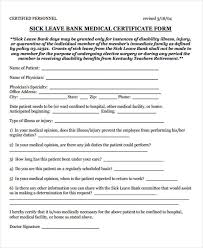 Medical Certificate For Sick Leave Delectable 44 Medical Certificate Samples Free Premium Templates