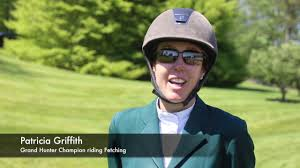 Patricia Griffith - Grand Hunter Champion riding Fetching - YouTube
