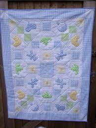 Applique Baby Patchwork Pattern Quilt 49