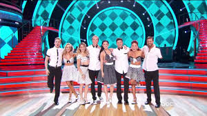 Dancing with stars group dance