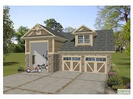 Garage Apartment Plans  2Car Garage Apartment Plan With Dormer Garages With Living Space