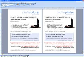 half page flyer how to print one a4 page as two a5 pages in microsoft word