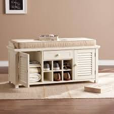Mudroom : Shoe Holder And Bench Storage Bench 36 Inches Wide Home ...