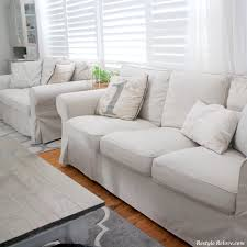 my new ikea rp sofa covers in lofallet beige cover gumtree pattern img full size