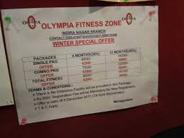offer olympia fitness zone photos indira nagar lucknow gyms