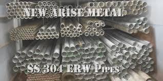 Ss 304 Erw Pipe Jindal Remi Ratnamani Make Suppliers