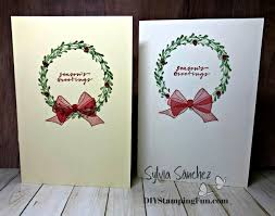 Christmas Notecard Make It Monday Christmas Notecard Thesearemystamps
