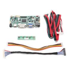 diy lcd controller converter board screen kit for lm240wu2 sla1 input interface hdmi dvi