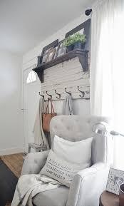 Front Door Coat Rack Simple DIY Rustic Entryway Coat Rack Liz Marie Blog