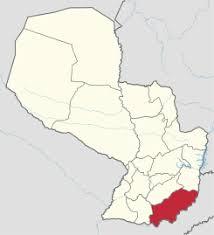 Resultado de imagen para departamento de itapua mapa