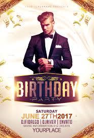 Birthday Flyers Birthday Party Flyer Template 1