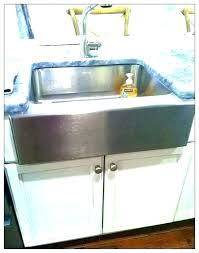 24 farmhouse sink inch stainless double farm basin base kohler