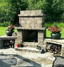 cost of outdoor fireplace nz nearwoo rh nearwoo co cost of installing outdoor fireplace average cost