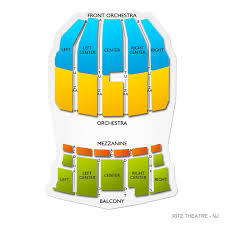 Ritz Theatre Nj 2019 Seating Chart