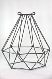 coloured wire cage pendant light 0469 diamond