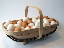traditional handmade bent wood english garden baskets fastened with copper tacks functional and beautiful