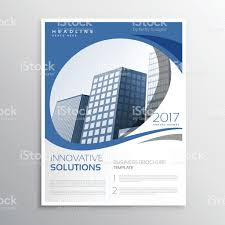 business report cover page template blue business flyer leaflet annual report cover page design stock