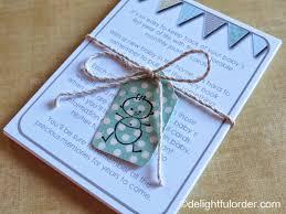 baby milestone journal cards gift idea