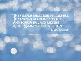 Tolkien Quotes Eucatastrophe Impressive Tolkien Quotes
