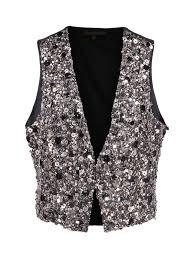 Apostrophe Clothing Size Chart Apostrophe Metal Beaded Vest