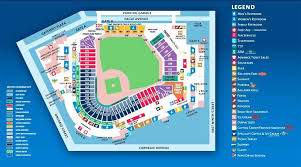 Progressive Field Seating Chart With Seat Numbers Awesome 15