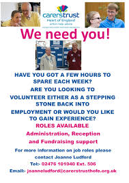 Working For Us Crossroads Care Coventry Warwickshire