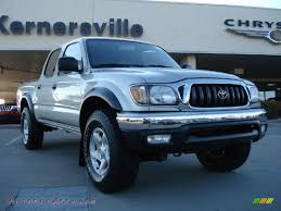 2003 Toyota Tacoma PreRunner TRD Double Cab in Lunar Mist Silver ...