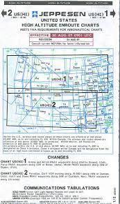 Jeppesen High Altitude Enroute Charts Jeppesen Charts On The Way Out Globe Cargo