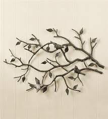 metal garden wall art birds