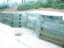 concrete bag wall calcular retaining pictures