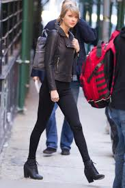 taylor swift out and about candids in new york