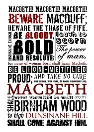 macbeth by william shakespeare sandra