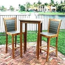 bar height outdoor table set outdoor bar height bistro table bar height outdoor dining set outdoor