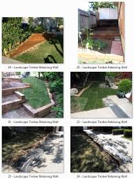 landscape timber retaining wall 4