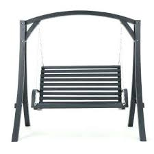 lawn swing with canopy 2 person gray wood patio a new noble porch replacement covers