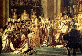 french revolution image jacques louis david the coronation of the emperor napoleon i and the crowning of the empress josephine in notre dame cathedral on 2 1804