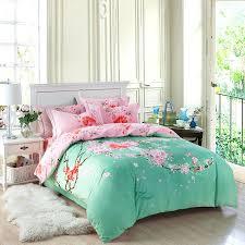 mint green bedding set single bed sheets nursery sets color