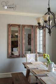 wall mirrors for dining room. Wall Mirrors For Dining Room. Unique Diy Throughout  Room