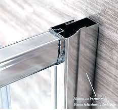 shower sliding door parts shower sliding door parts bathroom aqua glass replacement choice image shower sliding
