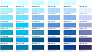 Blue Color Swatch Chart Pantone Color Bridge Swatch Book And Color Swatches Color
