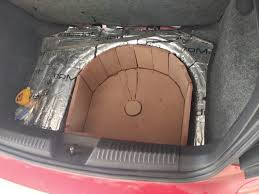 4-way active setup in a VW Polo, with a 15