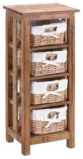 Best Bathroom Storage Units Baskets Cupboards Boxes Natural White  Pertaining To Storage Furniture With Baskets Remodel ...