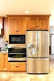 best double wall ovens oven cabinet corner dimensions fascinating microwave with on top